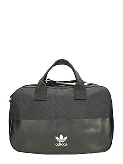 Adidas-Borsa Airliner Bag in tessuto e  nylon nero