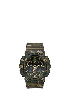 Casio-camouflage PVC watches