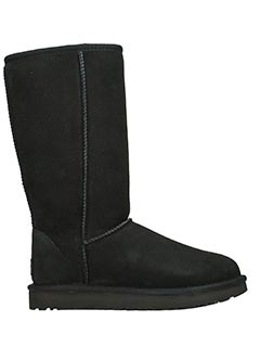 Ugg-Stivali Classic Tall in shearling nero
