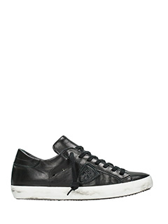 Philippe Model-Sneakers Classic in pelle nera
