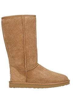 Ugg-Ugg Stivali Classic Tall in shearling chestnut