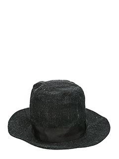 Attachment-Cappello in cotone nero