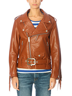 Golden Goose Deluxe Brand-leather color leather outerwear