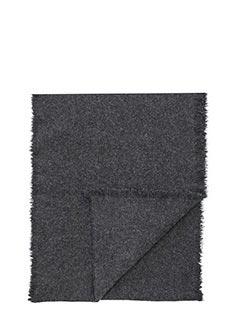 Helmut Lang-Sciarpa in cashmere grigio