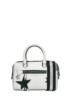 Marc Jacobs-Borsa Small Bauletto in pelle bianca