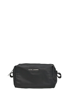 Marc Jacobs-Beauty  Easy Large Cosmetic Case in tessuto  nero