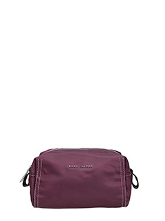 Marc Jacobs-Beauty  Easy Large Cosmetic Case in tessuto  bordeaux