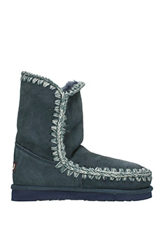 Mou-Stivali Eskimo 24  in shearling blue