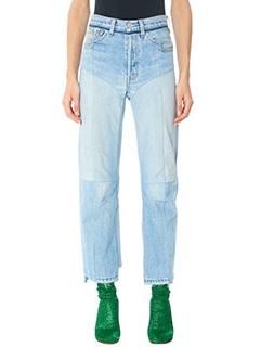 Vetements-blue denim jeans