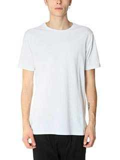 DonVich-T-Shirt Basik in cotone bianco