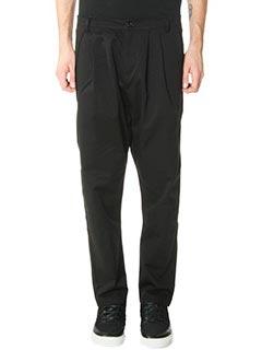 DonVich-Pantaloni Milano in cotone nero