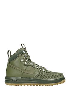 Nike-Sneakers Lunar Force 1 in pelle verde
