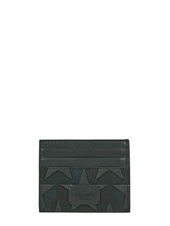 Valentino-black Tech/synthetic wallet