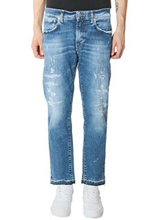 Department Five-Jeans Corkey in denim azzurro