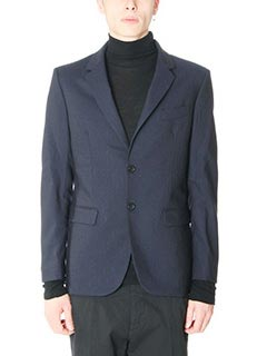 Department Five-Blazer in lana blue