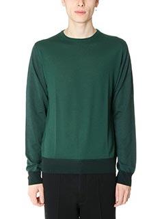 Lanvin-Maglia in lana verde