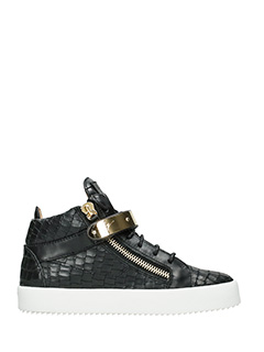 Giuseppe Zanotti-Dan black leather sneakers