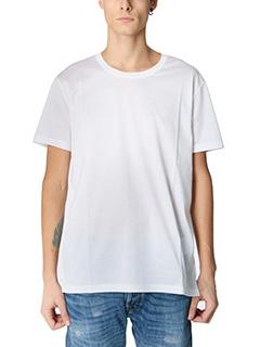 Valentino-white cotton t-shirt