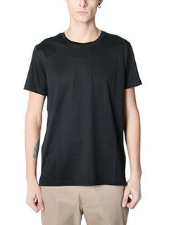 Valentino-black cotton t-shirt