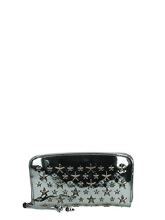 Jimmy Choo-Filipa grey leather wallet