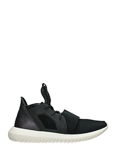 Adidas-Tubular defiant black Tech/synthetic sneakers