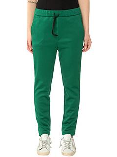 Golden Goose Deluxe Brand-Pantaloni Eastwind in viscosa verde