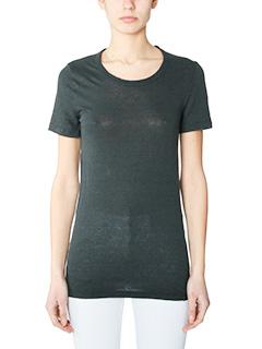 Isabel Marant Etoile-Kiliann black cotton t-shirt