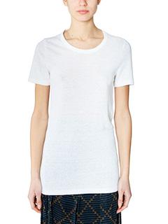 Isabel Marant Etoile-Kiliann white cotton t-shirt