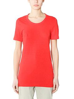 Isabel Marant Etoile-Kiliann red cotton t-shirt