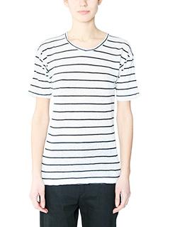 Isabel Marant Etoile-Andreia white cotton t-shirt