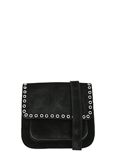 Isabel Marant-Marfa black suede bag