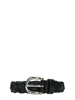 Isabel Marant Etoile-Dirk black leather belt
