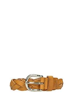 Isabel Marant Etoile-Cintura Dink in pelle intrecciata cuoio
