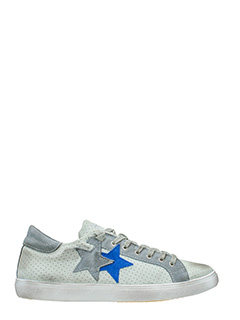 Two Star-Sneakers Low Star  in camoscio ghiaccio