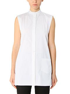 Helmut Lang-white cotton shirt