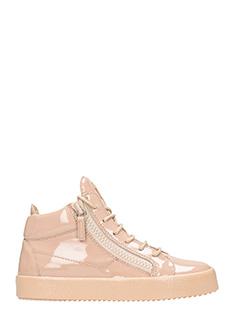 Giuseppe Zanotti-Sneakers Mid in vernice blush