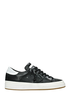 Philippe Model-Sneakers Lakers  in pelle bianca