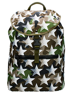 Valentino-Camustar camouflage Tech/synthetic backpack