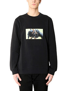 Givenchy-Felpa Rottweiler in cotone nero