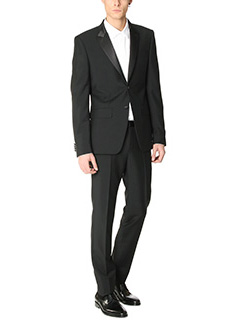 Givenchy-Suit Smoking in lana nera