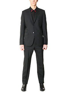 Givenchy-Suit Classic in lana nera