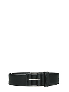Givenchy-Cintura Roll Buckle in pelle nera