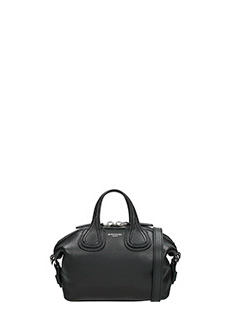 Givenchy-Borsa Nightingale Micro in pelle nera