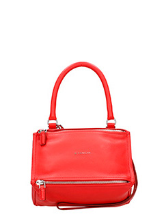 Givenchy-Borsa Pandora Small in pelle rossa