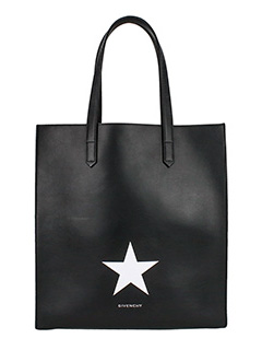 Givenchy-Borsa Stargate Medium in pelle nera