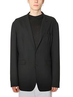 Jil Sander-Blazer Classic in lana nera