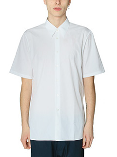 Jil Sander-Camicia Classic in cotone bianco