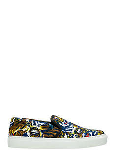 Kenzo-Sneakers Flyer Tiger  in tessuto multicolor