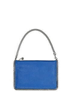 Stella McCartney-Purse  blue polyamide clutch