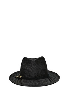 Stella McCartney-black canvas hat